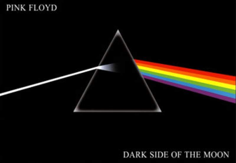 Common Misconceptions about Earth: Pink Floyd - Dark Side of the Moon Album Cover