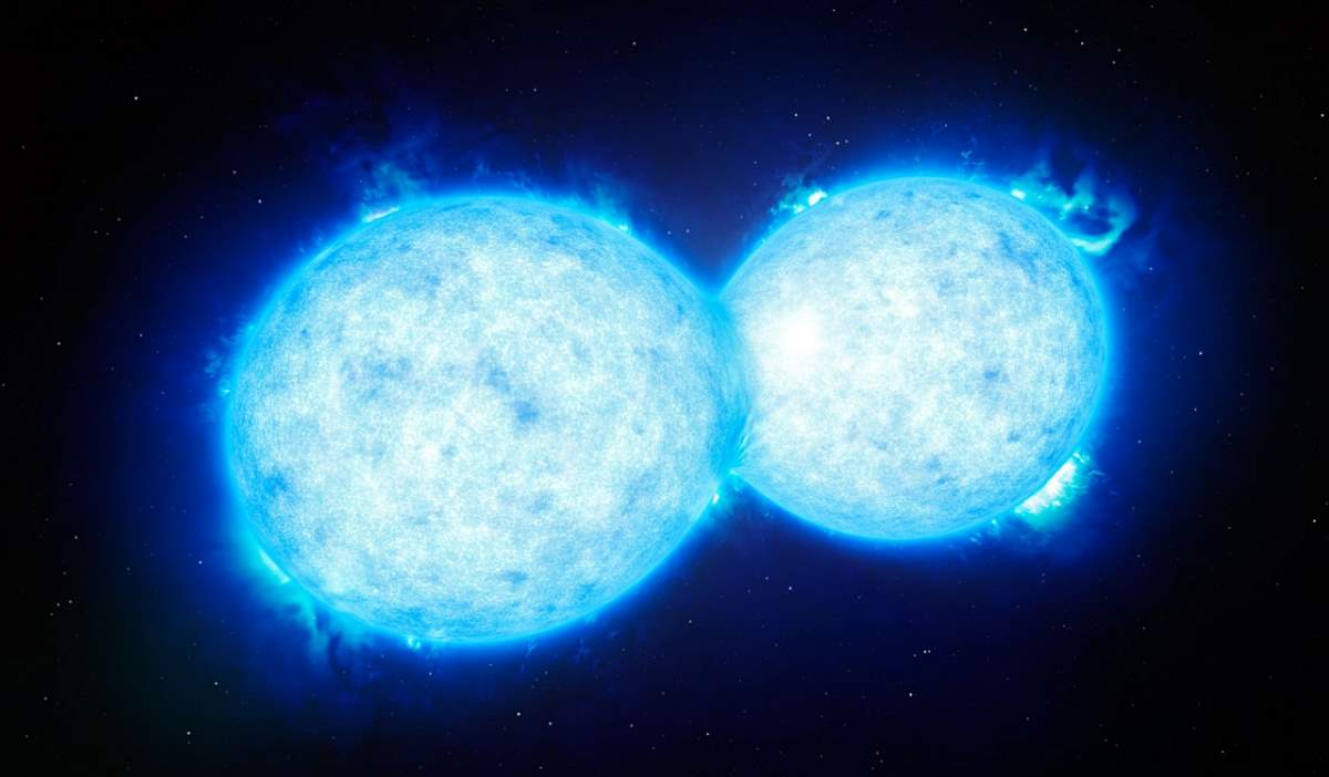 Two stars may collide and light up the night sky in 2022