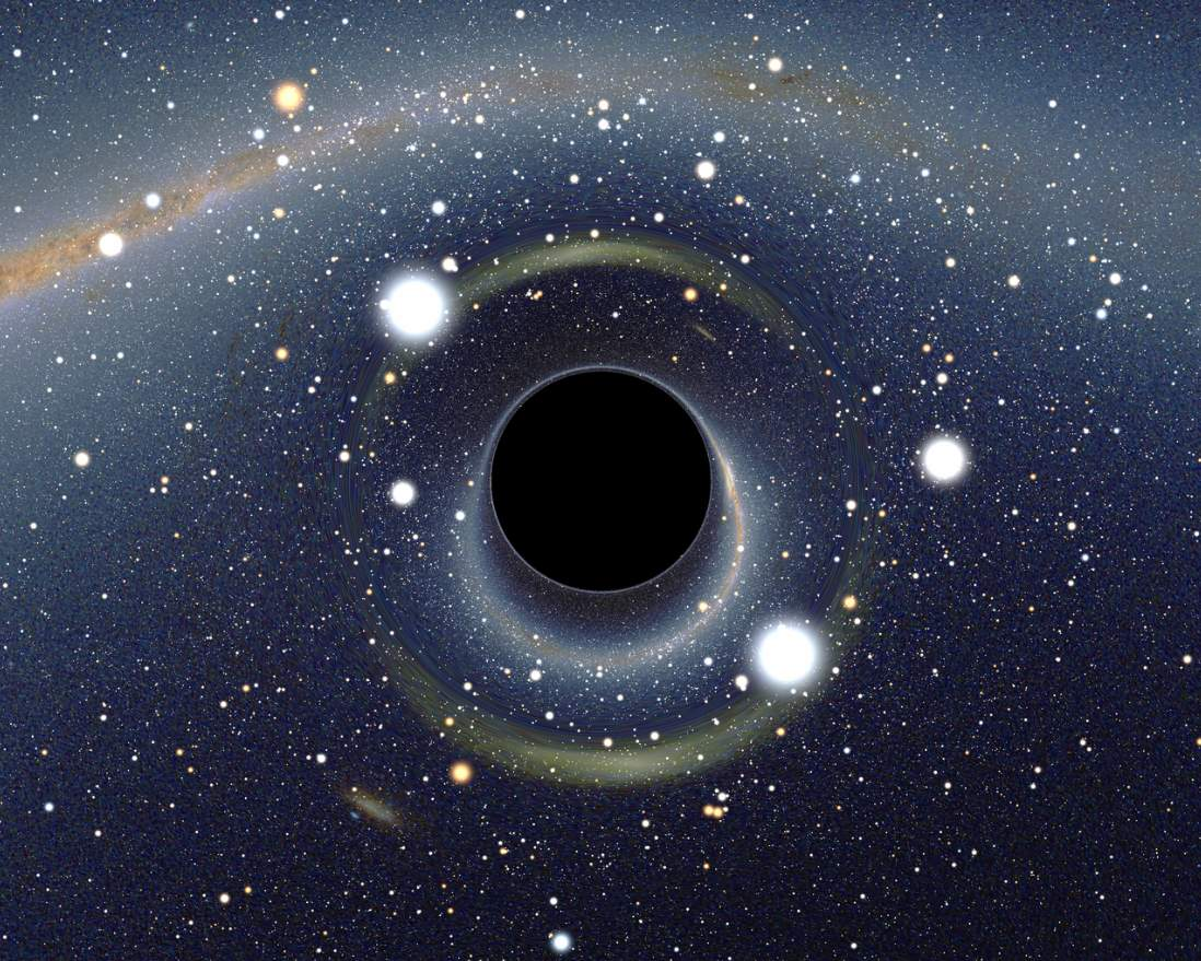 How Earth could die: A black hole