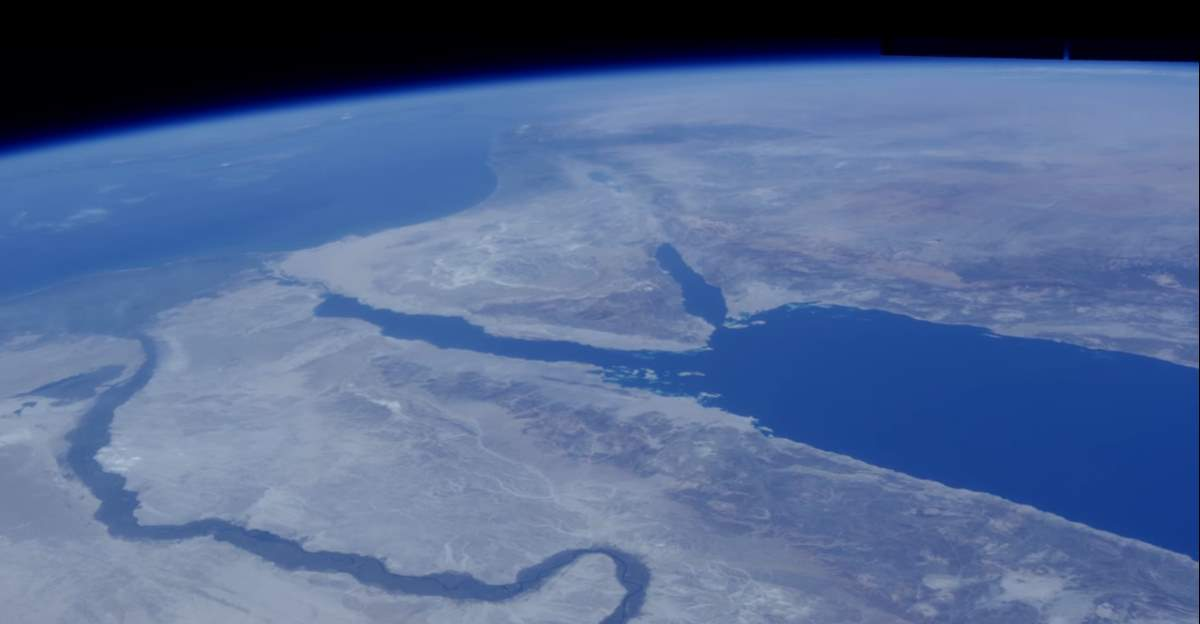 Our Living Planet: Red Sea from Space
