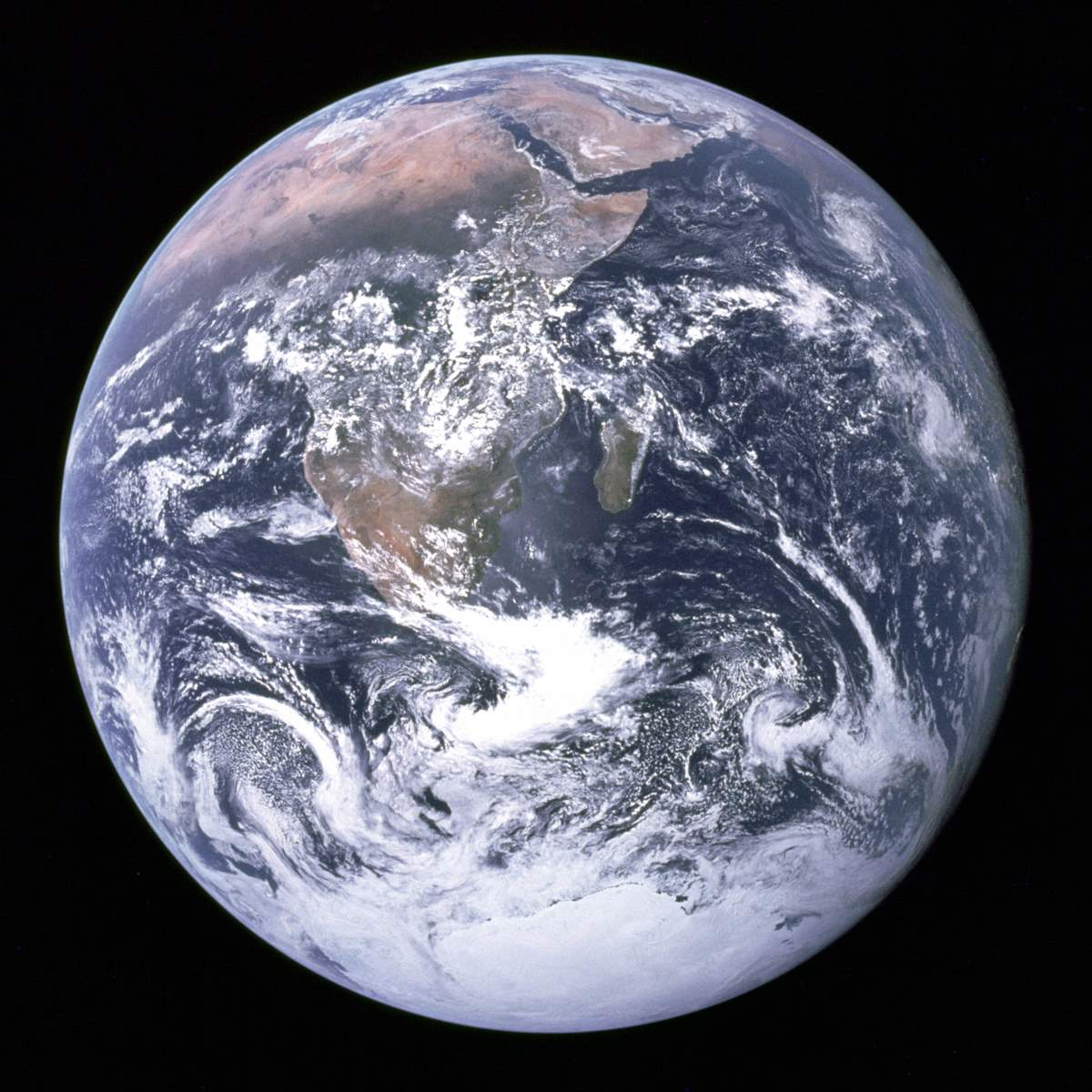 Most Iconic Photos of Earth from Space: The Blue Marble