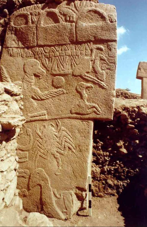 Vulture stone göbekli tepe our planet