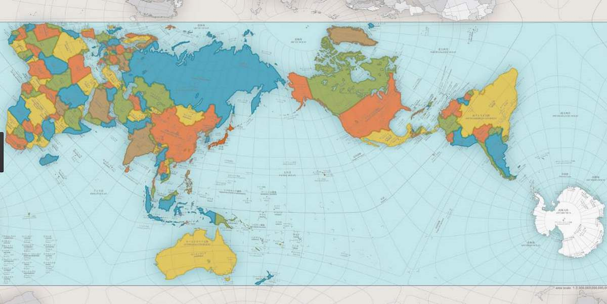 AuthaGraph World Map