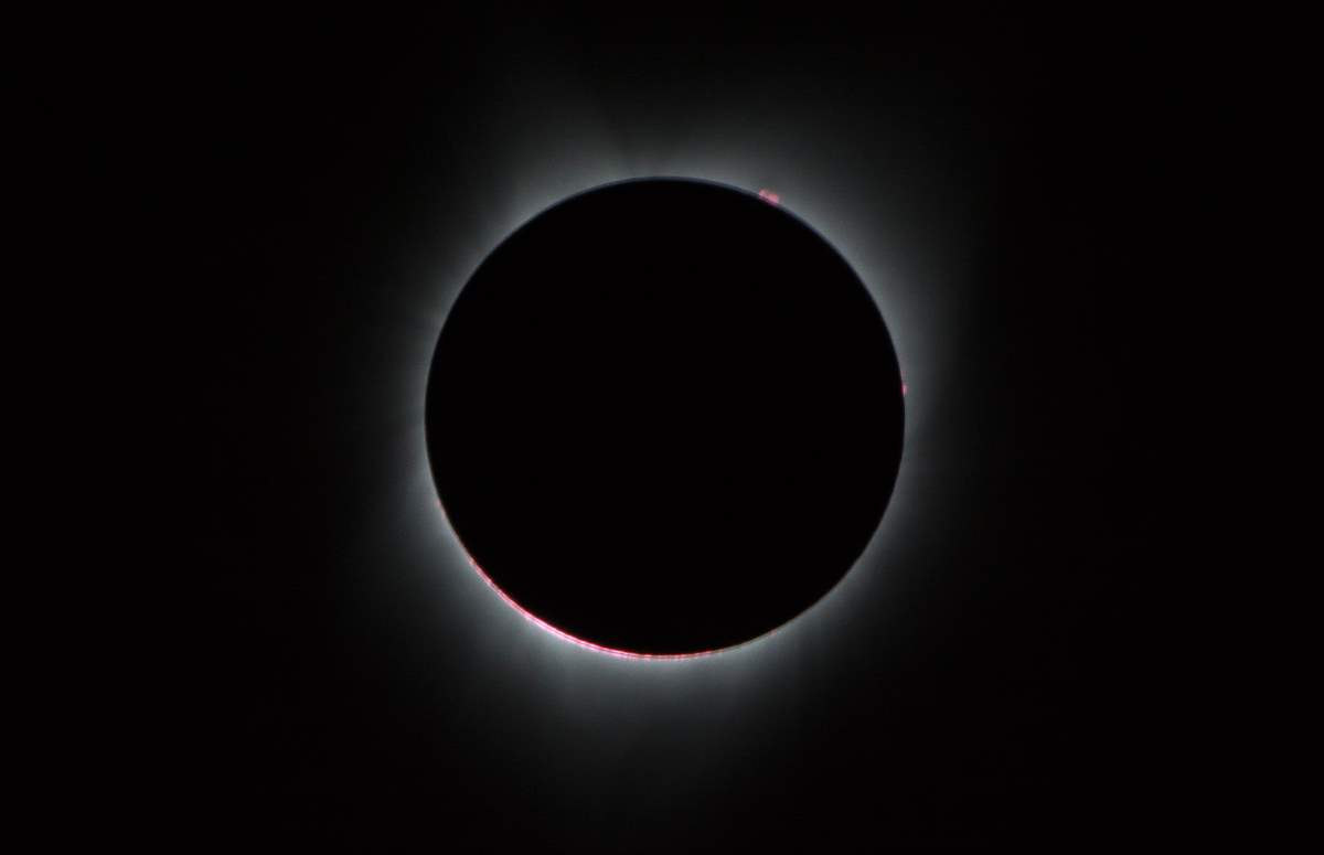 Interesting facts about the Earth: Sun's corona during 2017 Total Solar Eclipse