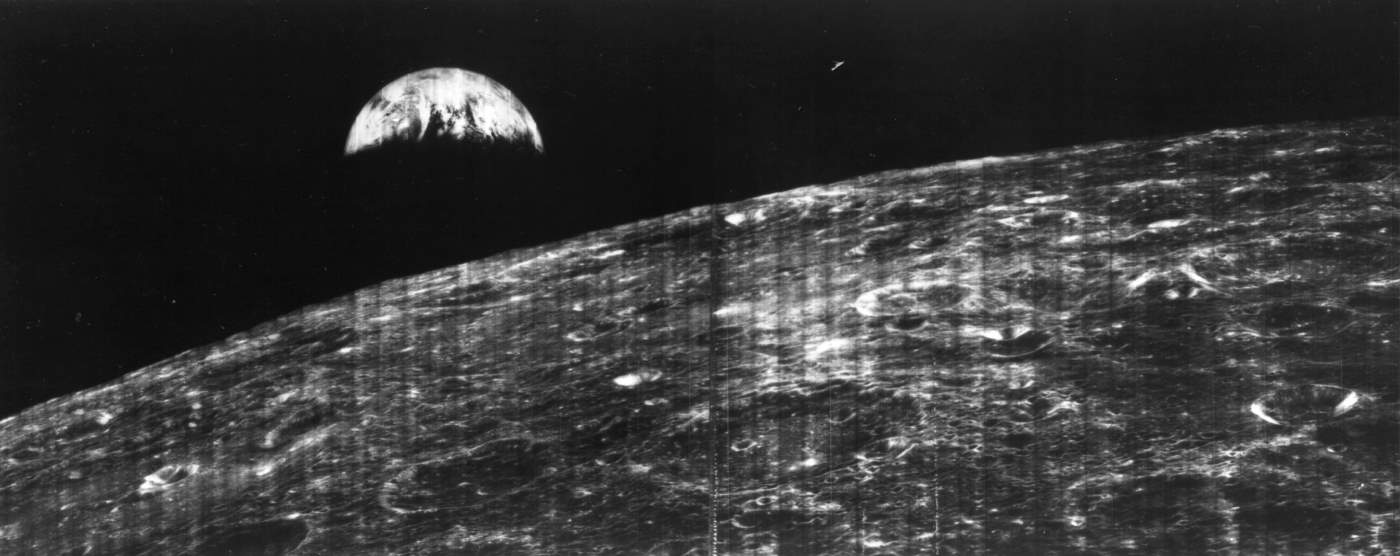 Most Iconic Photos of Earth from Space: The First View of Earth From the Moon