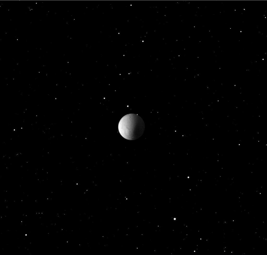 Enceladus, Cassini image (October 9, 2008)