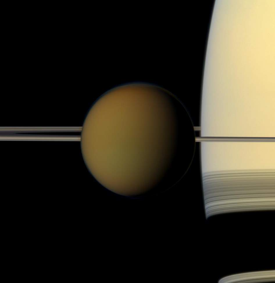 Titan (Cassini Image, May 21, 2011)