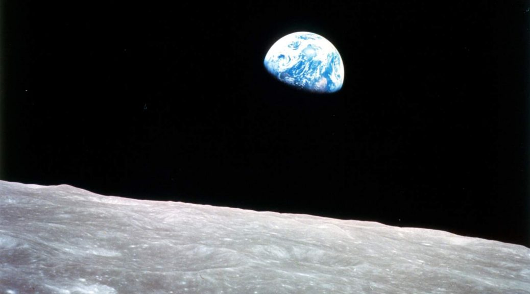 Earthrise from Apollo 8. December 24, 2017