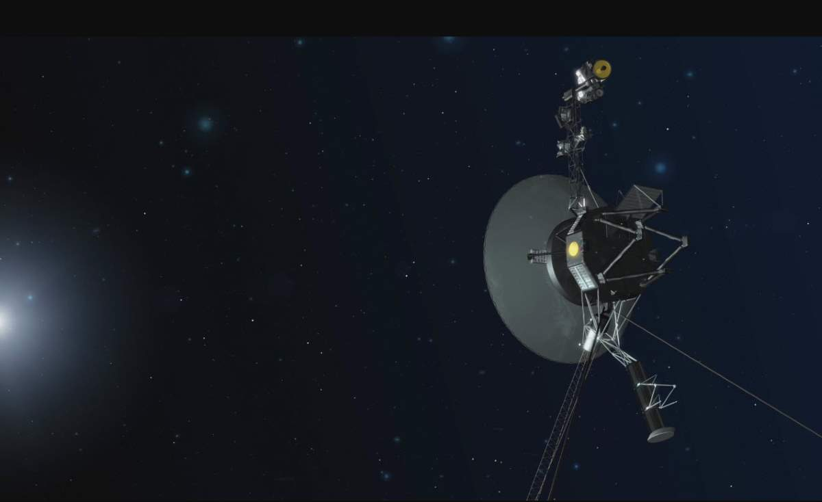 Voyager 1 in Deep Space (Artist Conception)