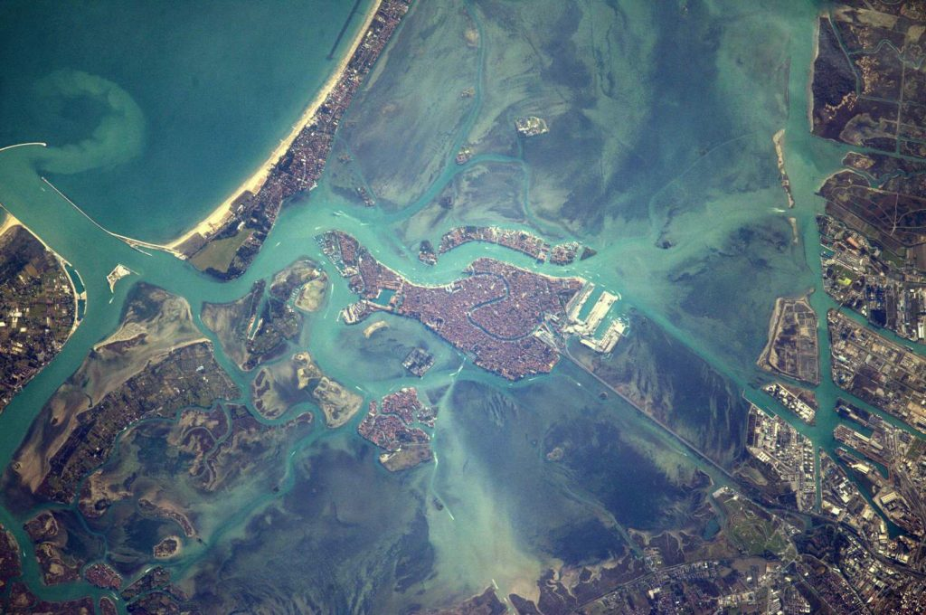 Space Station Flight Over Venice. February 14, 2017