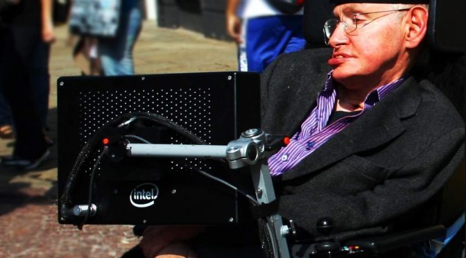 Stephen Hawking in Cambridge