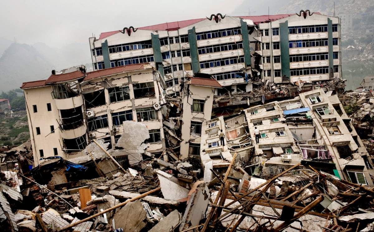 Humans can cause deadly Earthquakes: 2008 Sichuan earthquake