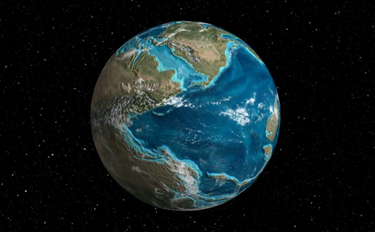 What did ancient earth look like our planet publicscrutiny Choice Image