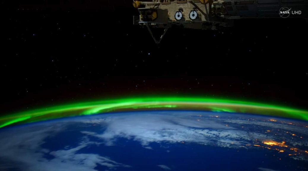 An Aurora From Space