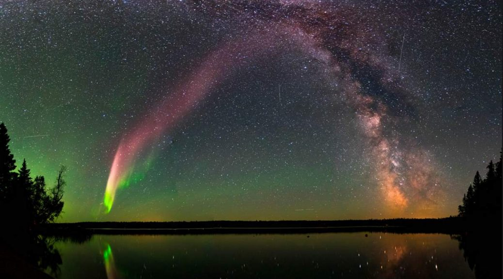 NASA identified an aurora-related celestial phenomenon STEVE with the help of citizen scientist program
