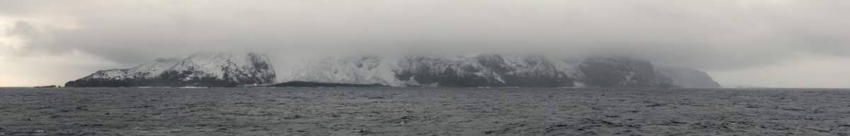West coast of Bouvet Island - most remote island on Earth