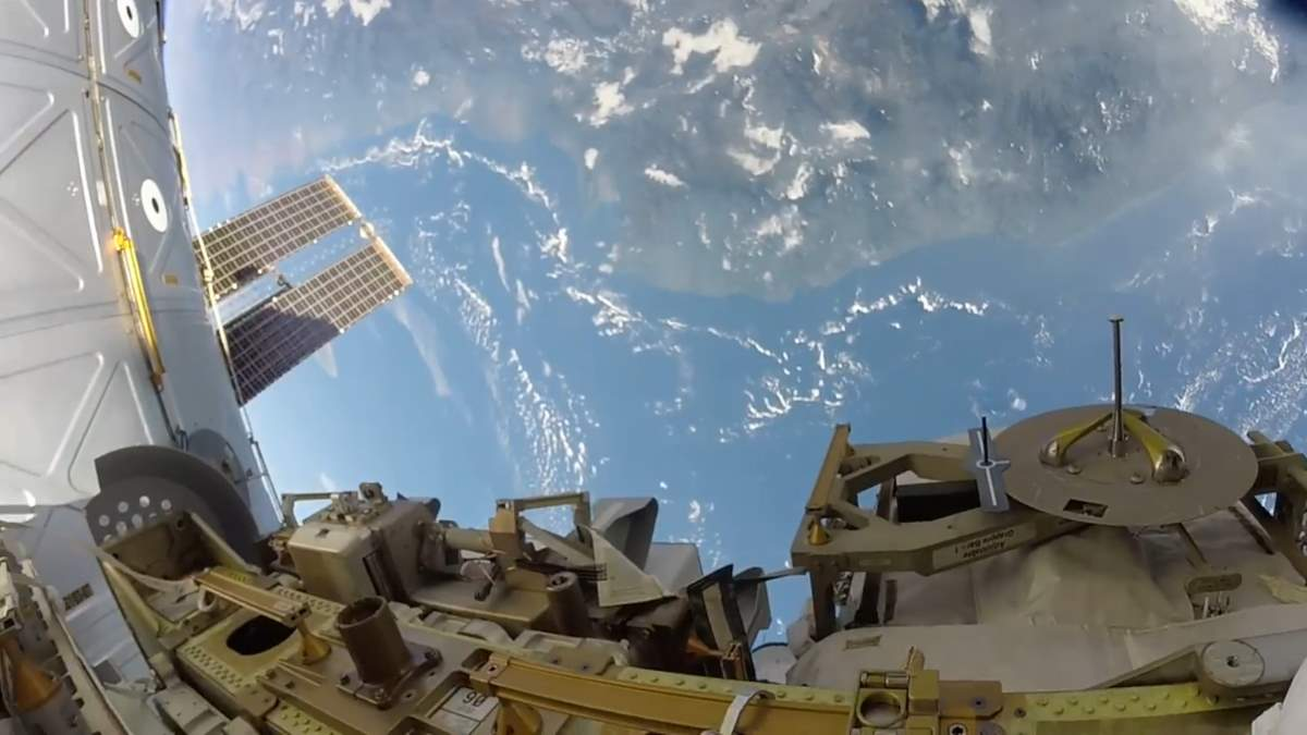 Expedition 53 spacewalk