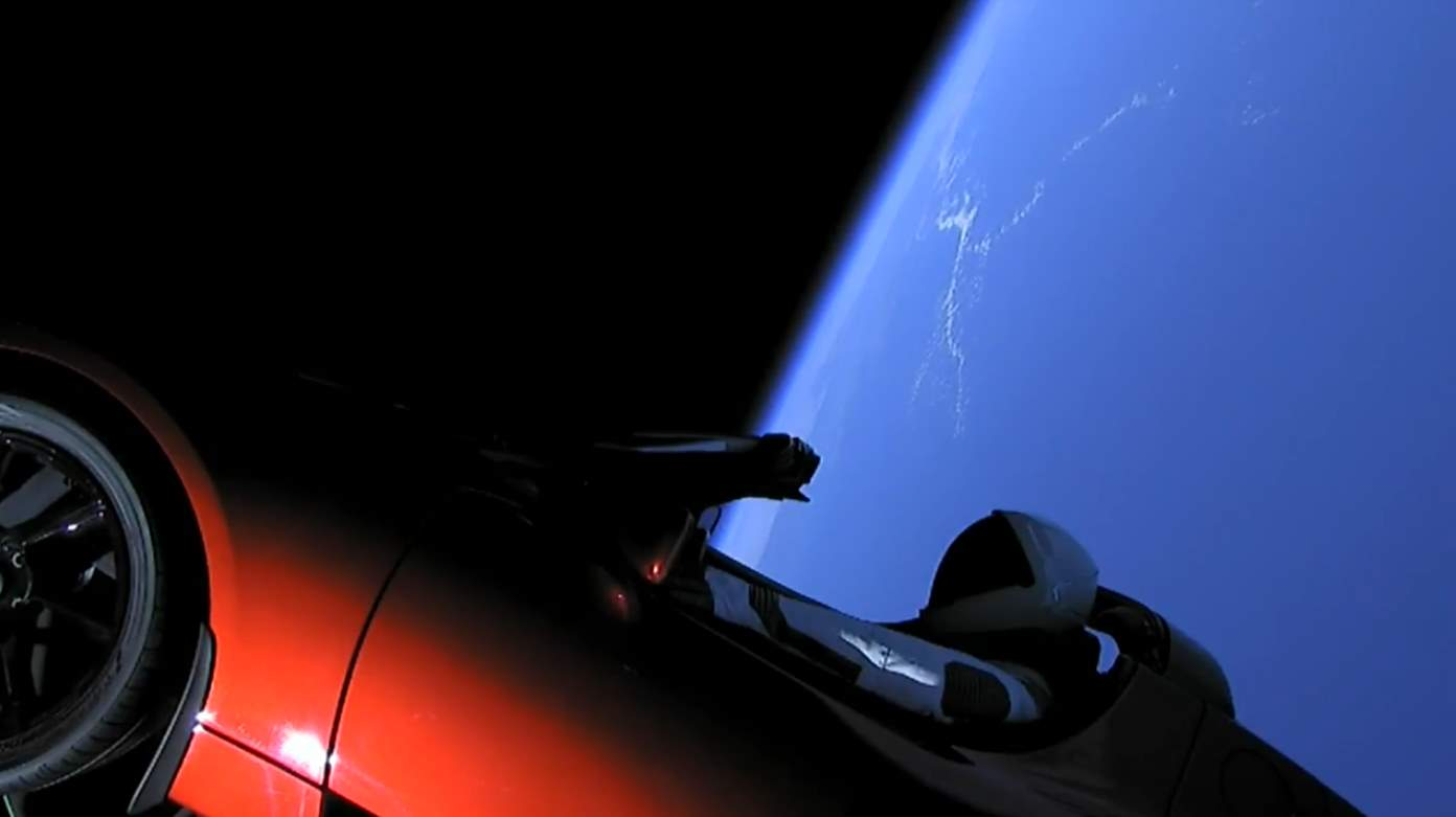 Falcon Heavy Test Flight: Tesla in space