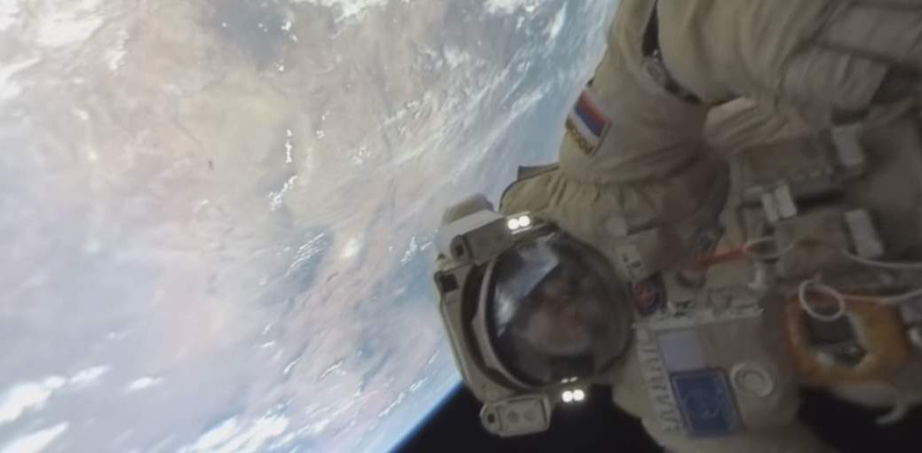 First ever 360-Degree Spacewalk Video