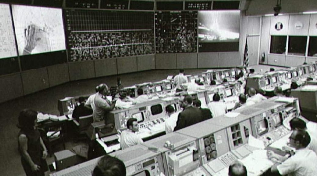 Historic Apollo 11 Mission Room