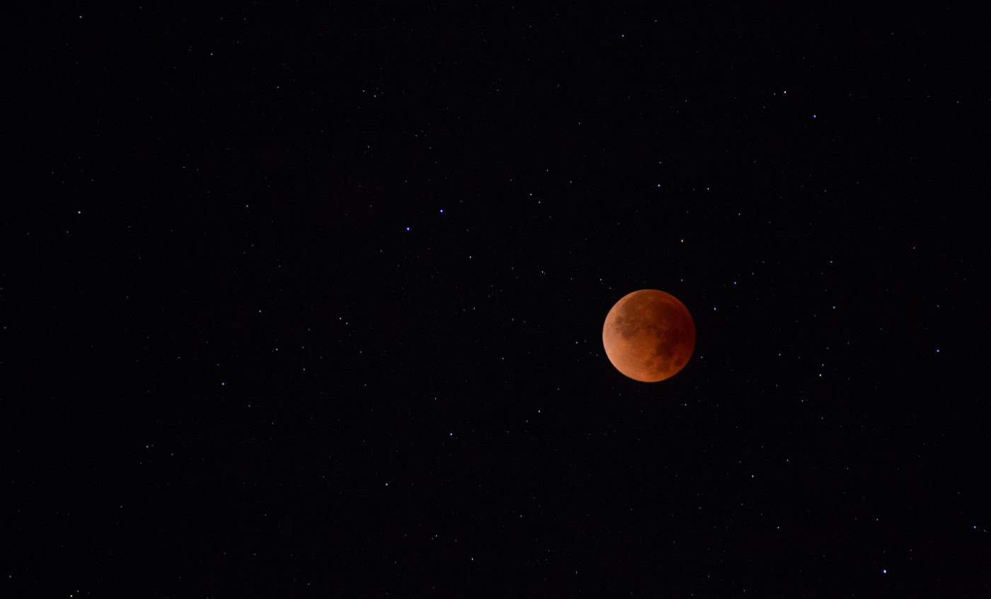 January 31, 2018 - Super Blue Blood Moon from Kauai