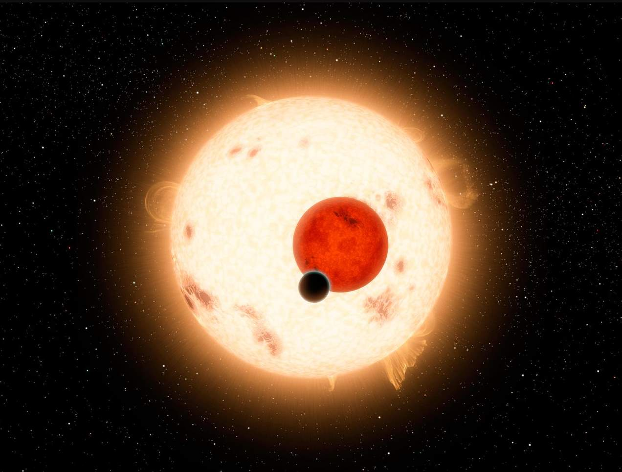 Kepler-16b artist conception