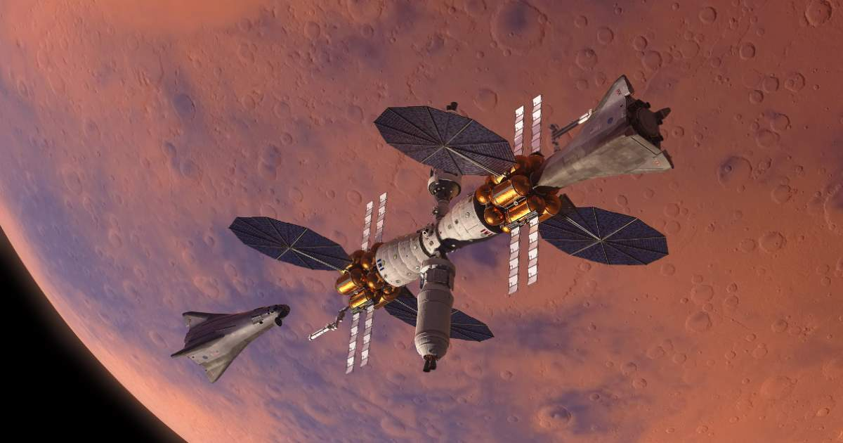 Lockheed Martin Mars orbiter (space station)