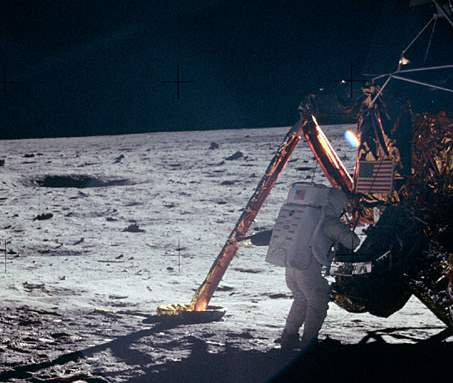 Moon Landing - Neil Armstrong on the Moon