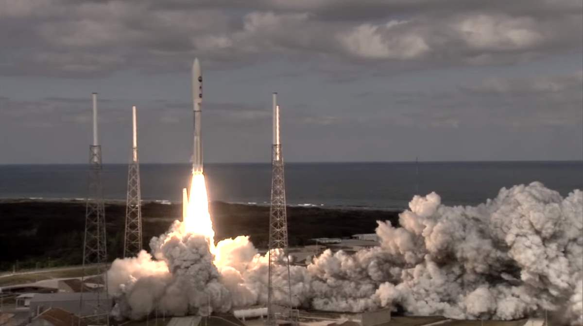 New Horizons Launch (January 19, 2006)