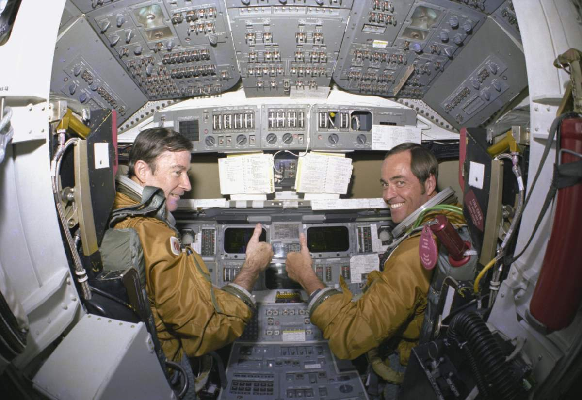 Space Shuttle Columbia - Flight Deck