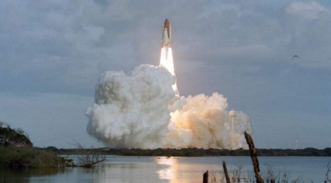 TDRS-6 launch on January 13, 1993 (featurd image)