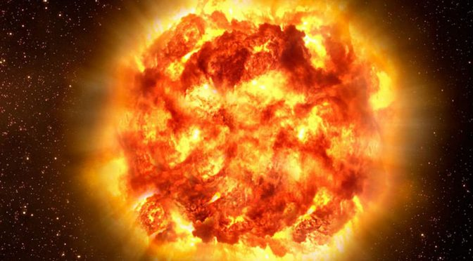 The hottest place in the Universe is on Earth and it is much hotter than a supernova