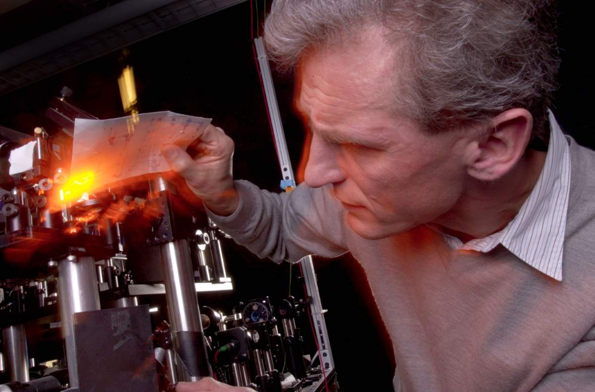 Coldest place in the Universe: Wolfgang Ketterle