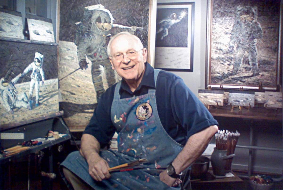 Alan Bean at NASM