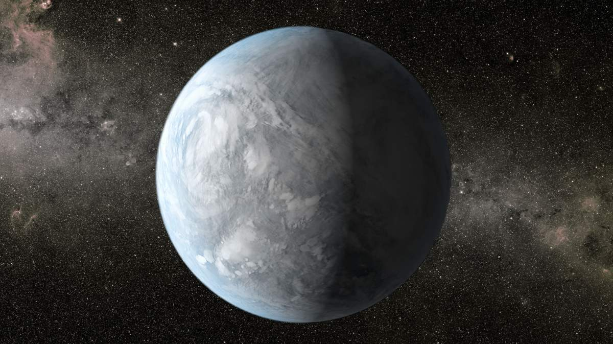 Kepler-62e artist conception