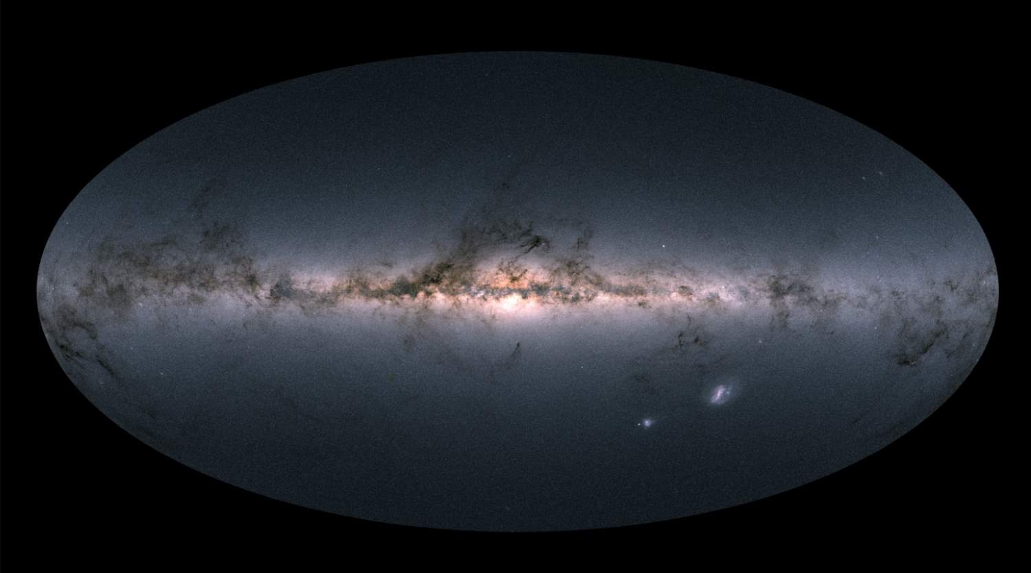 Most Detailed Map of Milky Way Galaxy by Gaia Spacecraft. April 2018.