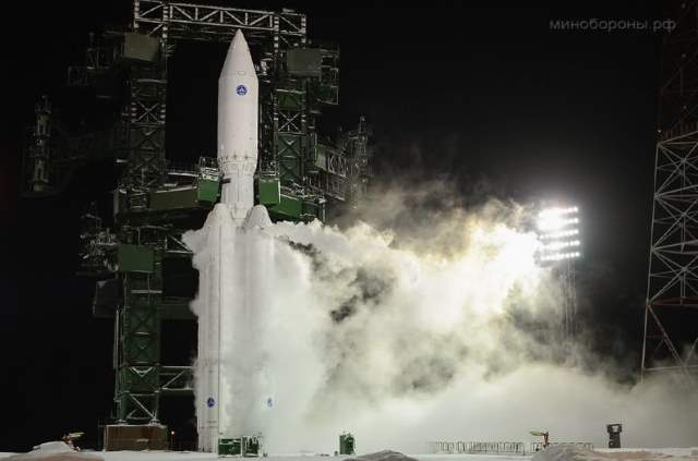 Angara-A5 the first test launch