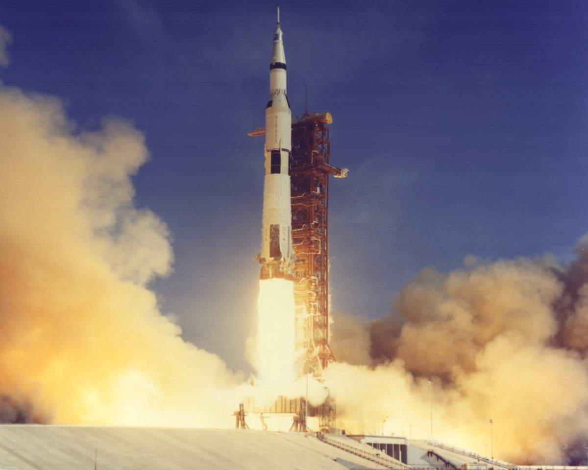 Apollo 11 Saturn V launch