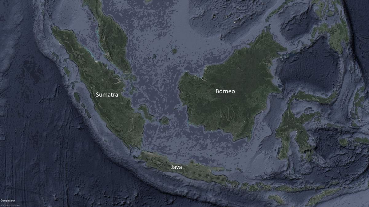 Largest Islands on Earth: Borneo, Sumatra, and Java