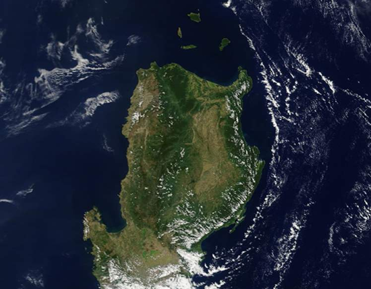 Largest Islands on Earth: Luzon from space