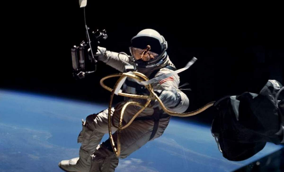 First US Spacewalk: Ed White (featured)