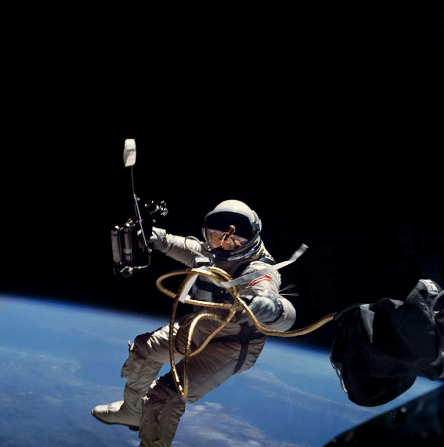 The First US Spacewalk (Ed White)