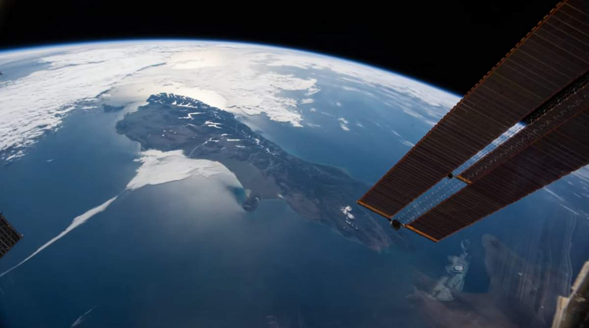 ISS passes over New Zealand