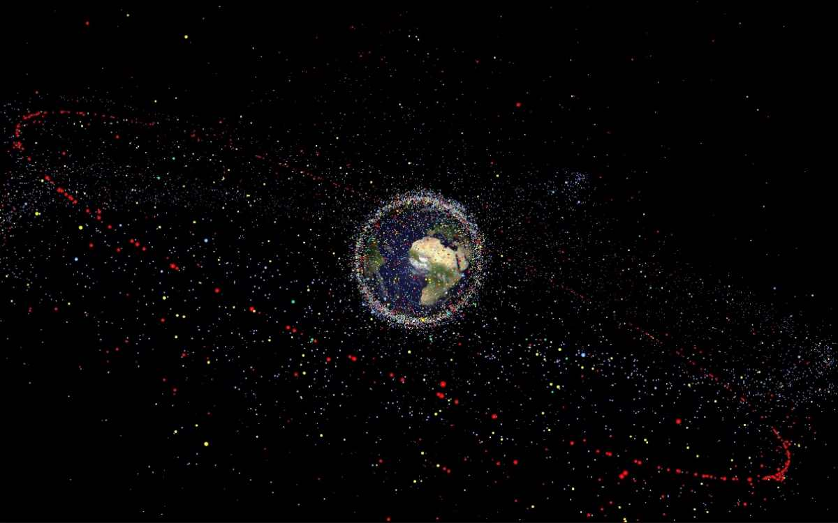 Kessler Syndrome: Space Debris
