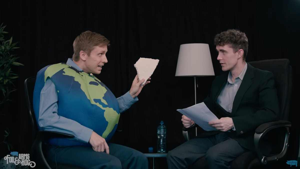 Awkward Interview with Planet Earth - Foil Arms and Hog