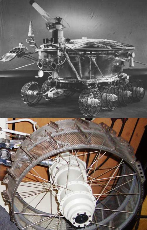 Driving Distances on Mars and the Moon: Lunokhod 1