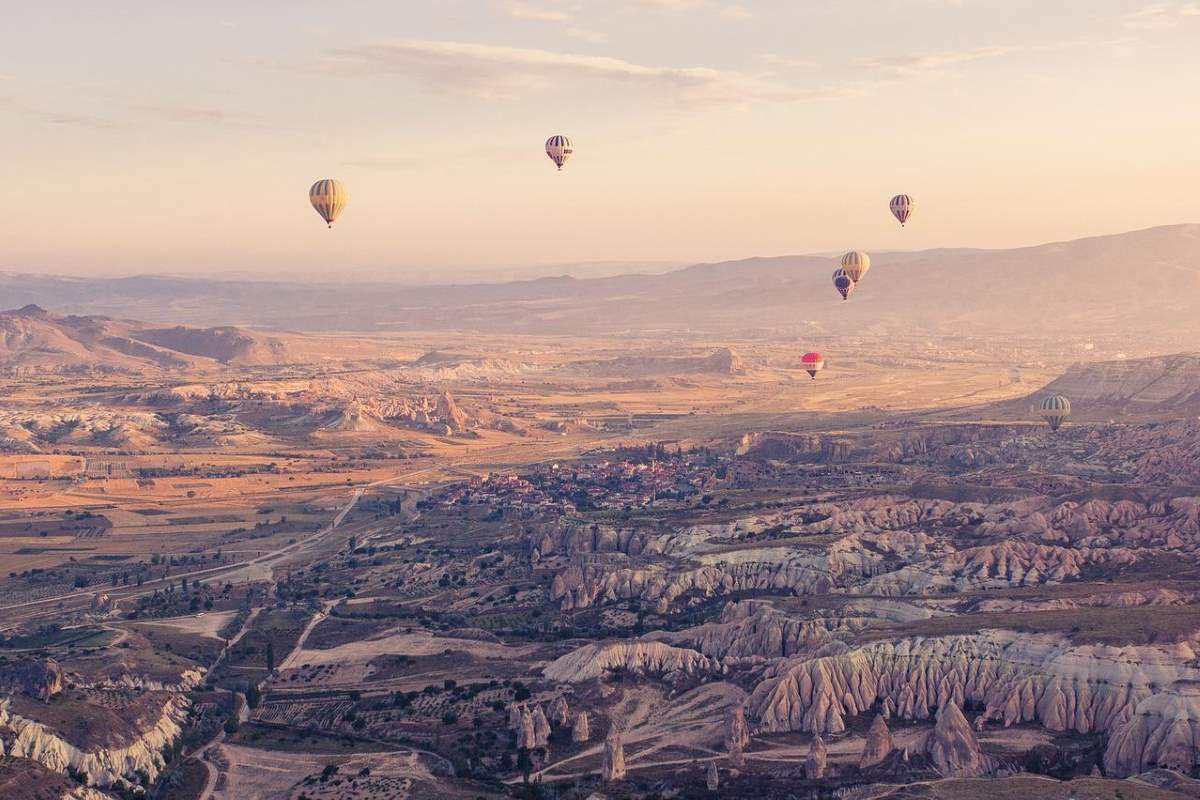 Cheapest destinations: Cappadocia, Turkey