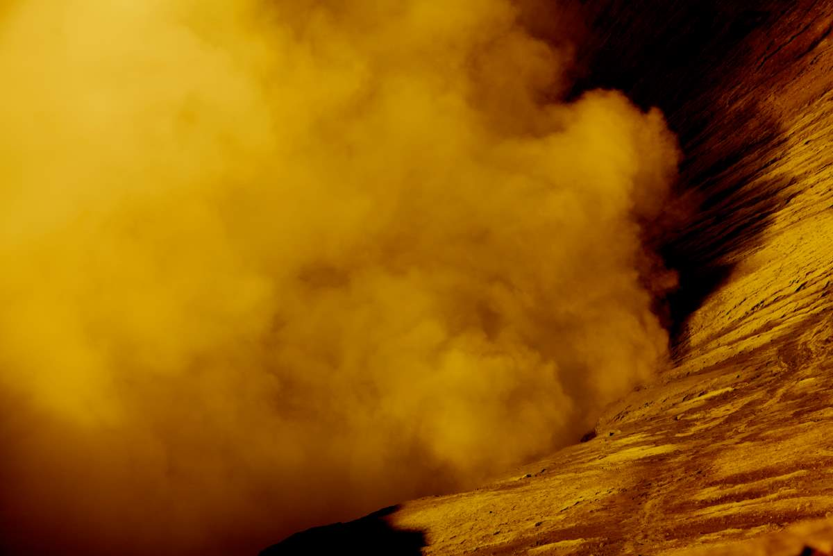Facts about Mars: a dust storm