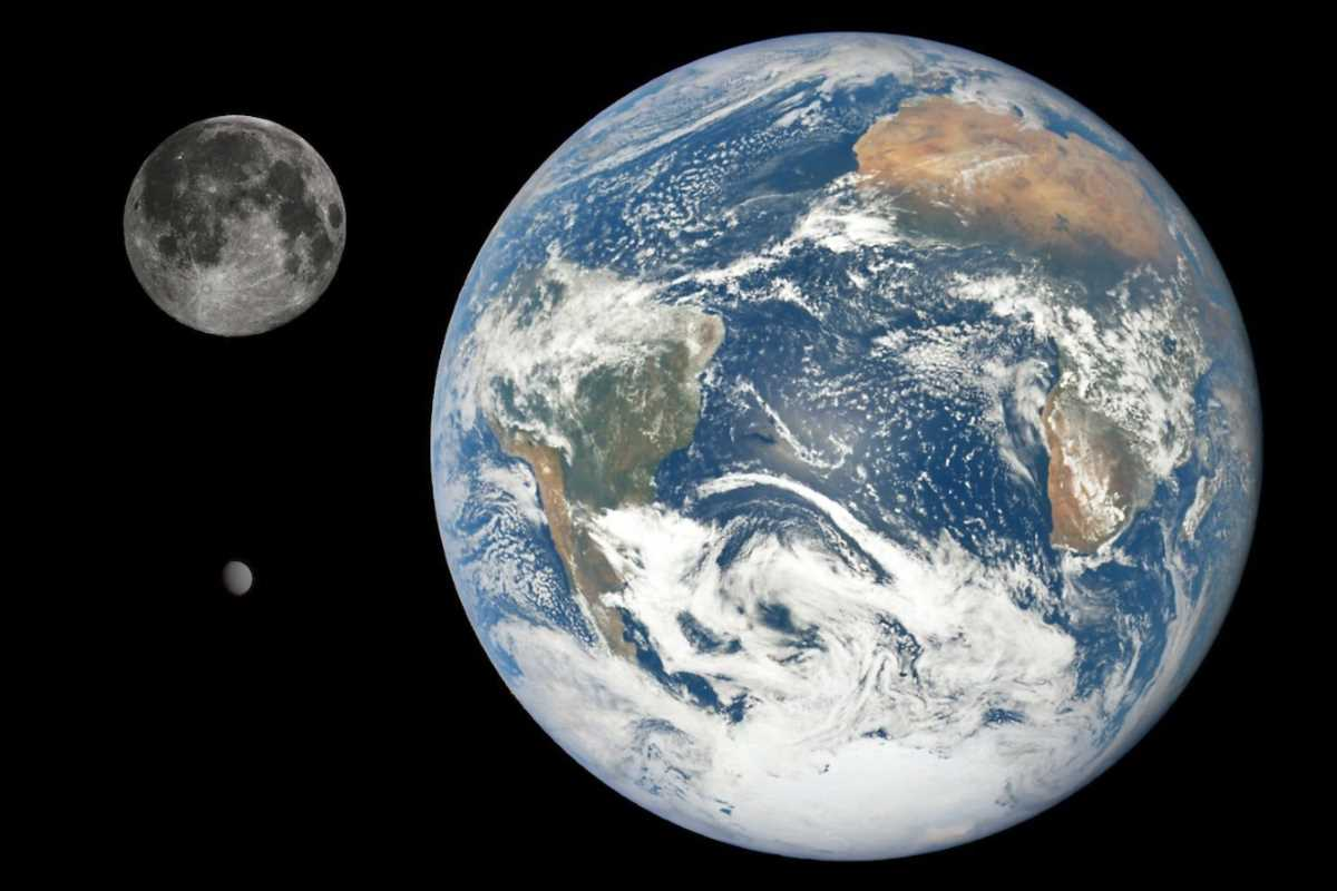 Earth-Moon-Farout size comparison