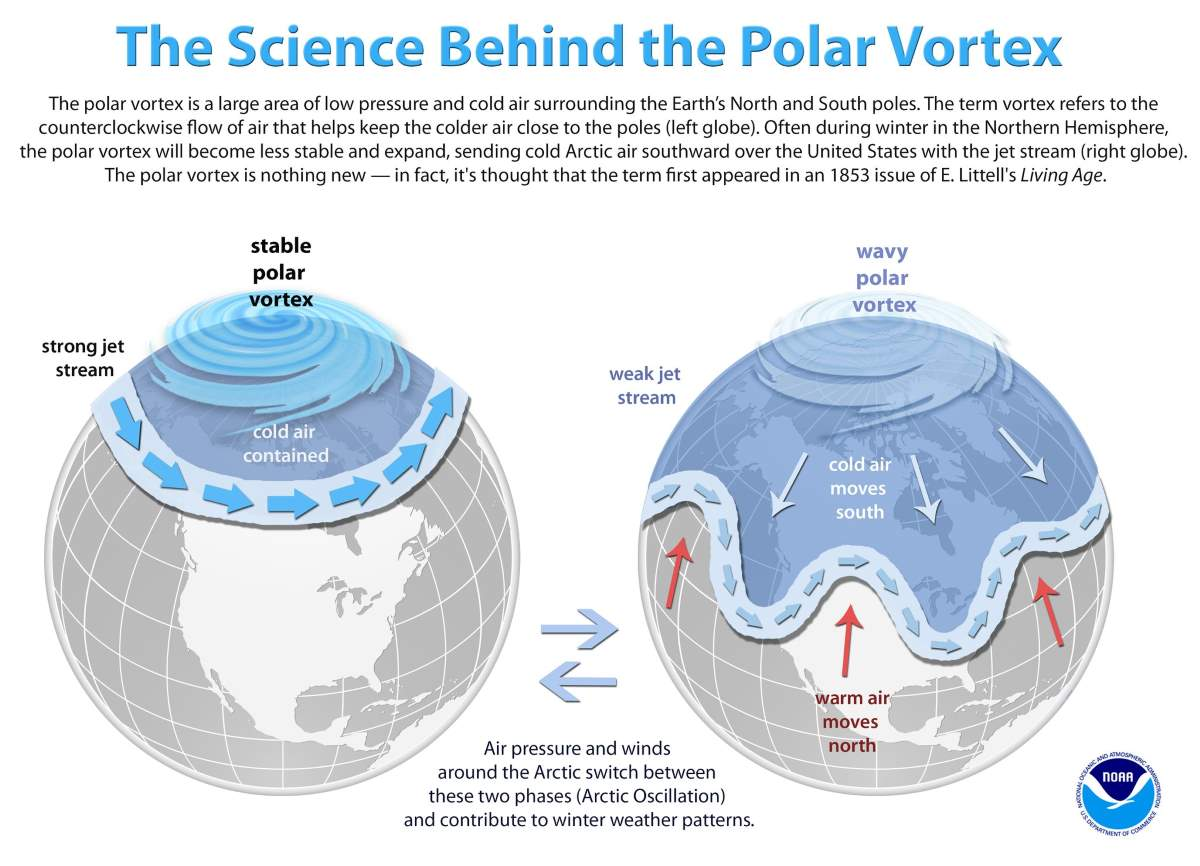 The science behind the Polar Vortex